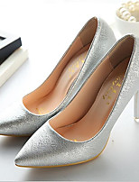 Women's Shoes Patent Leather Spring Fall Basic Pump Comfort Heels For Casual Blushing Pink Silver Black White