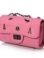 Women Bags All Seasons PU Shoulder Bag Zipper for Casual Blue Black Blushing Pink Camel Gray