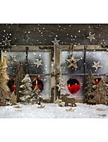 5 * 7ft grande sfondo fotografia sfondo classico neve di neve natale tema per studio fotografo professionista