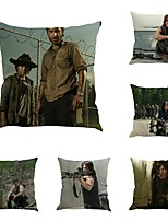 Set of 6 The Walking Dead Mankind Pillow Cover Creative Pillow Case 45*45Cm Cushion Cover