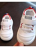 Fille Chaussures Similicuir Automne Hiver Confort Premières Chaussures Basket Pour Décontracté Rouge Vert