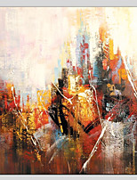 Hand-Painted Abstract Square,Abstract Realism Pastoral 14pcs Canvas Oil Painting For Home Decoration