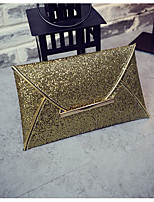 Women Bags All Seasons PU Clutch Pockets for Champagne Gold Black