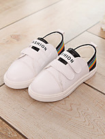 Girls' Shoes PU Fall Comfort Sneakers For Casual Green Red Black