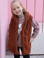 Kids' Wraps Vests Faux Fur Wedding Party/ Evening Cap