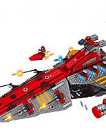Building Blocks Rocket & Spaceship Fighter Toys Spacecraft Military Boys 1472 Pieces