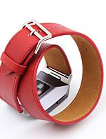 Недорогие -для fitbit ионный высококачественный сверхдлительный неподдельный кожаный ремешок для fitbit ионный двойной браслет браслета кожаный