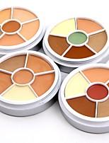 6 Foundation Concealer/Contour Matte Mineral Balm Concealer Women Face Lady