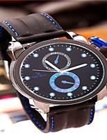 Men's Dress Watch Fashion Watch Wrist watch Quartz Silicone Band