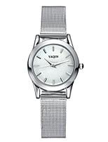 Mulheres Relógio Elegante Relógio de Moda Relógio de Pulso Quartzo Lega Banda
