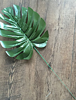 5 Branch Polyester Plants Tabletop Flower Artificial Flowers