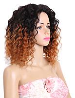 cabelos humanos cabelo ombre brasileiro tecendo extensões de cabelo solto de 8 peças preto / borgonha preto / médio castanho avermelhado /