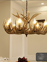 Retro Traditional/Classic Country Flush Mount For Living Room Hallway Shops/Cafes AC 220-240 AC 110-120V Bulb not included