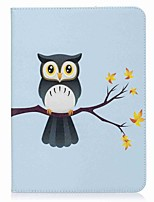 Owl Pattern Card Holder Wallet with Stand Flip Magnetic PU Leather Case for Samsung Galaxy Tab S3 WIFI/LTE T820 T825 9.7 inch Tablet PC