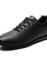 Men's Shoes PU Fall Winter Comfort Sneakers For Casual Outdoor Brown Gray Black