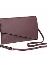 Damen Taschen Ganzjährig Kuhfell Unterarmtasche Reißverschluss für Normal Schwarz Grau Violett