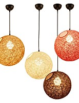Lantern Leisure Pendant Light For Bedroom Dining Room Indoor 220V 110VV Bulb Included