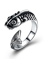 cheap -Men's Statement Rings , Animals Cartoon Fashion Stainless Steel Dolphin Jewelry Ceremony Club