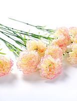 5 Une succursale Polyester Pivoines Fleur de Table Fleurs artificielles