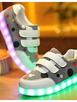 Fille Chaussures Polyuréthane Automne Hiver Confort Basket Pour Décontracté Gris Bleu Rose