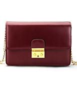 Women Bags PU Shoulder Bag Zipper for Casual All Seasons White Black Red