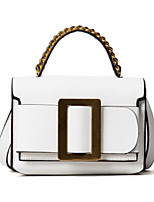 Women Bags All Seasons PU Tote Zipper for Casual White Black