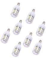 8pcs 2W LED Corn Lights T 30 leds SMD 5730 Warm White 150lm 3000-3500K 110-120V