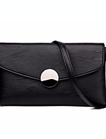 Women Bags All Seasons PU Clutch Zipper for Casual Gray Red Black
