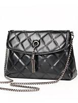 Women Bags PU Crossbody Bag Pockets Zipper for Casual Winter Fall Black