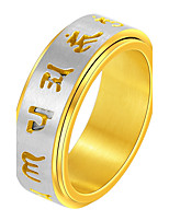 Men's Band Rings Personalized Rock Stainless Steel Jewelry For Club Street