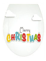 Christmas Words & Quotes Wall Stickers 3D Wall Stickers Toilet Stickers 3D,Vinyl Material Home Decoration Wall Decal