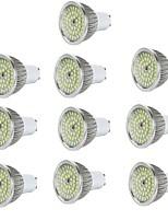 10pcs 6W GU10/E27/E14/GU5.3 LED Spotlight 48*2835SMD 550LM Warm/Cool White Aluminum Spot Lamp AC85-265V