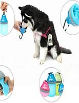 Миски и бутылки с водой Животные Чаши и откорма Компактность Лиловый Зеленый Синий