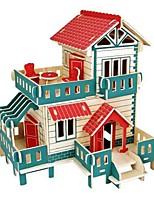 3D Puzzles Jigsaw Puzzle Logic & Puzzle Toys Model Building Kits Toys Castle House Animals 3D Houses Fashion Kids Hot Sale DIY Classic