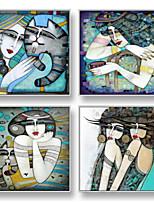 Мультипликация Рамка Art Предметы искусства,Сталь материал с рамкой For Украшение дома Предметы искусства в рамках Гостиная