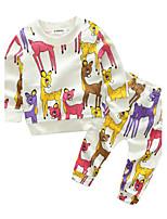 Baby Boys' Daily Animal Clothing Set,Cartoon Spring/Fall