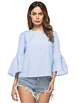 Women's Holiday Daily Street chic Spring Summer Shirt