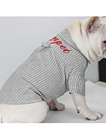 Chien Tee-shirt Vêtements pour Chien Décontracté / Quotidien Britannique Vert Bleu Costume Pour les animaux domestiques