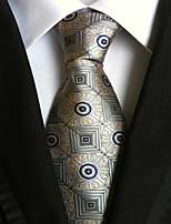 Men's Polyster Neck Tie,Pattern Galaxy All Seasons