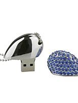 8g u disque cristal stylo lecteur stylo lecteur bijoux usb flash drive usb 2.0 cadeau de noël