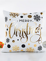 1 pcs Others Pillow Cover,Word / Phrase Style Christmas