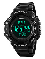SKMEI -1180 Smartwatch Water Resistant / Water Proof Long Standby Pedometers Heart Rate Monitor Alarm Clock Multifunction Light and
