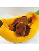 Dog Bed Pet Liners Solid Yellow