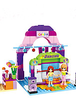 Building Blocks Toys Fairytale Theme People Fantacy Fashion Friends Girls Girls' 243 Pieces