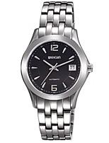 Men's Women's Dress Watch Fashion Watch Wrist watch Automatic self-winding Stainless Steel Band