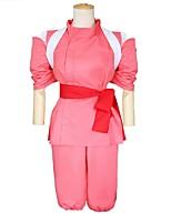 Tenue Bal Masqué Princesse Cosplay de Film Rouge Hauts Pantalon Ceinture Plus d'accessoires Halloween Carnaval Le Jour des enfants Nouvel