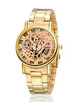 Mulheres Relógio Esqueleto Relógio de Moda Quartzo Lega Banda