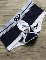 Men's Sexy Solid Briefs  Underwear,Modal Spandex