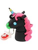 2Gb USB 2.0 Cartoon Unicorn Horse Usb Flash Drive Disk Cute Memory Stick Pen Drive Gift Pen Drive