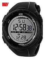 SKMEI Men's Sport Watch Digital Watch Digital Plastic Band Black Green Grey